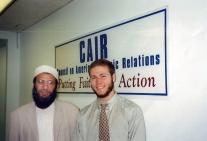 With Yusuf Islam, 1997
