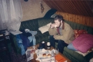 Sarajevo, 1995. Ismail Royer drinking coffee at a friend's in Sarajevo in 1995, on leave.